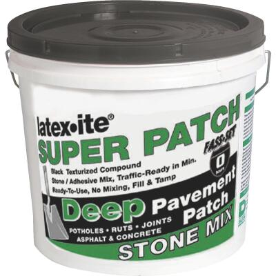 Latex-ite Super Patch 1 Gal. Stone Asphalt Patch
