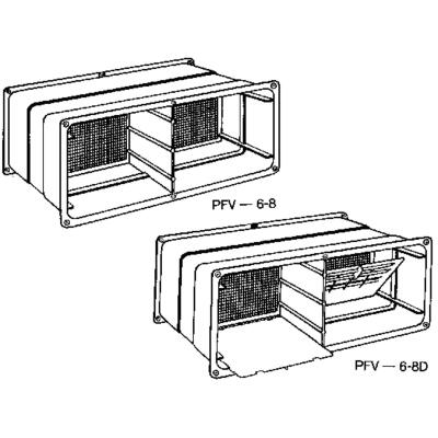 NorWesco 7-1/4 In. x 18-1/2 In. Adjustable Foundation Vent