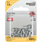 National #212-1/2 Zinc Small Screw Eye (10 Ct.) Image 2