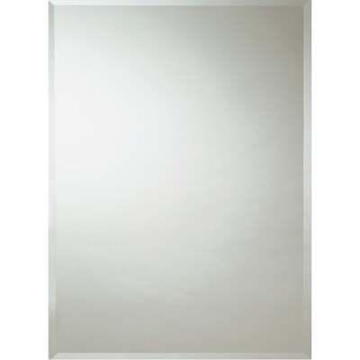 Erias Home Design 30 In. W. x 36 In. H. Frameless Beveled Edge Wall Mirror
