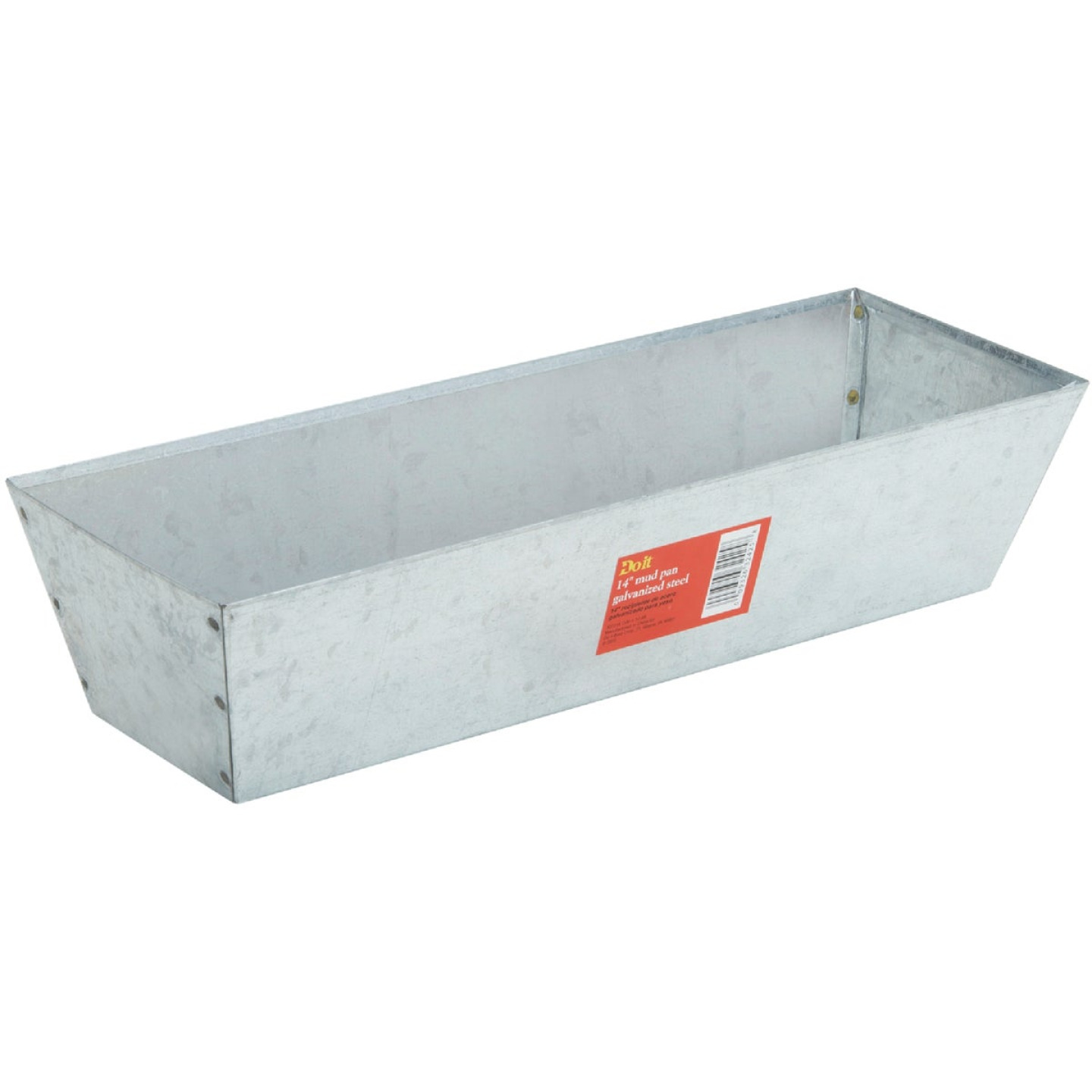 Do it 14 In. Galvanized Steel Mud Pan Image 2