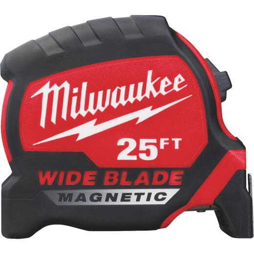 Milwaukee 25 Ft. Wide Blade Magnetic Tape Measure
