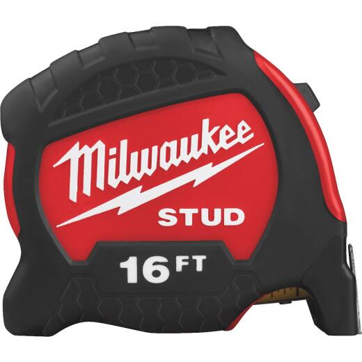 Milwaukee 16 Ft. Gen II STUD Tape Measure