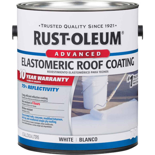 Rust-Oleum 750 1 Gal. 10-Year Elastomeric Roof Coating