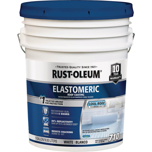 Rust-Oleum 710 5 Gal. 7-Year Elastomeric Roof Coating
